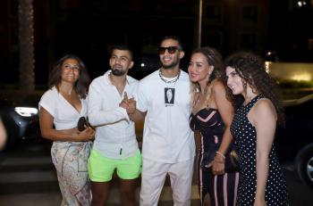 النجوم يشاركون ميشال فاضل افتتاح Le Rouge في مصر