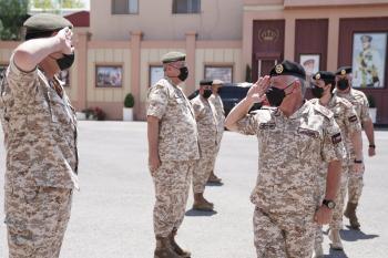 الملك وولي العهد في القيادة العامة للقوات المسلحة