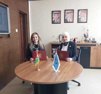 اتفاقية تعاون تدريبي بين عمان الأهلية ومؤسسة منى بدح للاستشارات