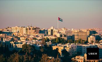 أوبر تستكمل إجراءات التسجيل في الأردن