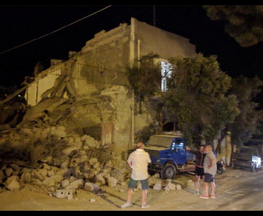 زلزال يضرب جزيرة إيشيا الإيطالية