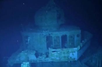 استكشاف حطام سفينة غارقة منذ الحرب العالمية الثانية