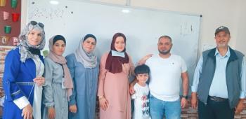 روضة ومدرسة المزن تكرم الطفل كريم الشطناوي