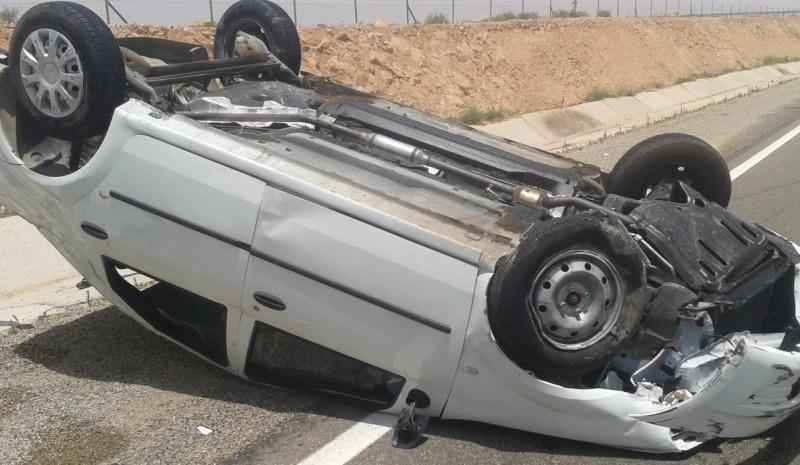 وفاة طفل وإصابة 4 بتدهور مركبة في الكورة