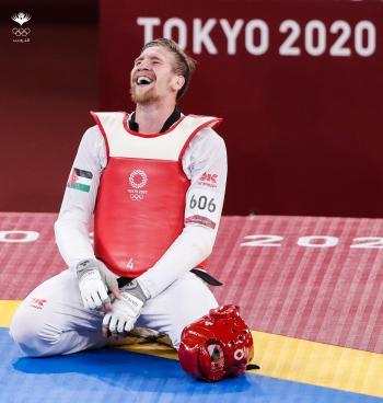 الشرباتي يتأهل إلى نهائي وزن 80 في تايكواندو الأولمبياد