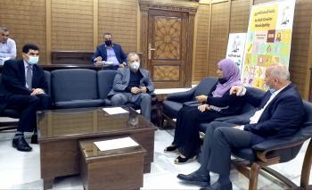 كريشان يوجه بتثبيت عمال الوطن الأردنيين
