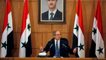 الاتحاد الأوروبي يفرض عقوبات على وزير خارجية سوريا