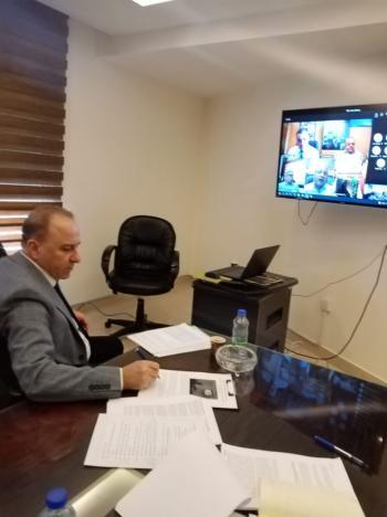 الشؤون الفلسطينية تعقد اجتماعا تنسيقيا للدول المضيفة للاجئين