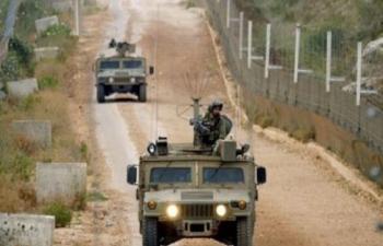 دورية اسرائيلية تخرق الخط الازرق جنوب لبنان