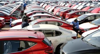 انخفاض مبيعات السيارات الجديدة في أوروبا