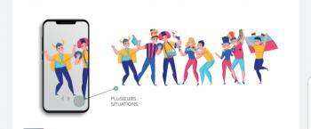 ابتكار جمهور إفتراضي يملأ المدرجات الرياضية في مختلف الميادين
