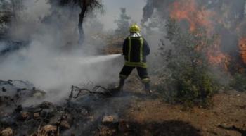 93 حريقا في الأردن خلال 24 ساعة