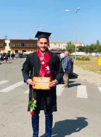 سلطان حسين عبيدات ..  مبارك التخرج