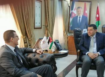 السفير المصري يشيد بفترة قوننة العمالة الوافدة في الاردن