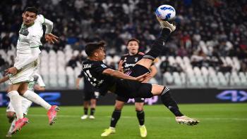 ساسولو يهزم يوفنتوس بثنائية على أرضه في الدوري الإيطالي