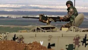 الجيش يحبط محاول تسلل مركبة بداخلها مواد غير مشروعة