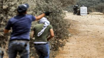 استشهاد فلسطيني برصاص قوات الاحتلال جنوب نابلس
