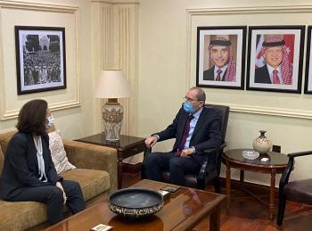 الأردن يبلغ السفيرة الفرنسية استياءه الشديد من نشر الرسوم المسيئة للرسول