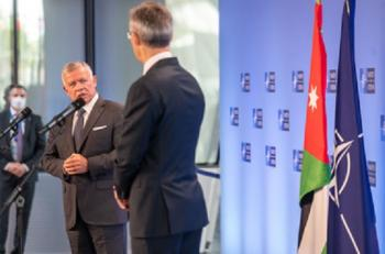 الملك: المستقبل سيحمل الأفضل لعلاقة الأردن وحلف الناتو