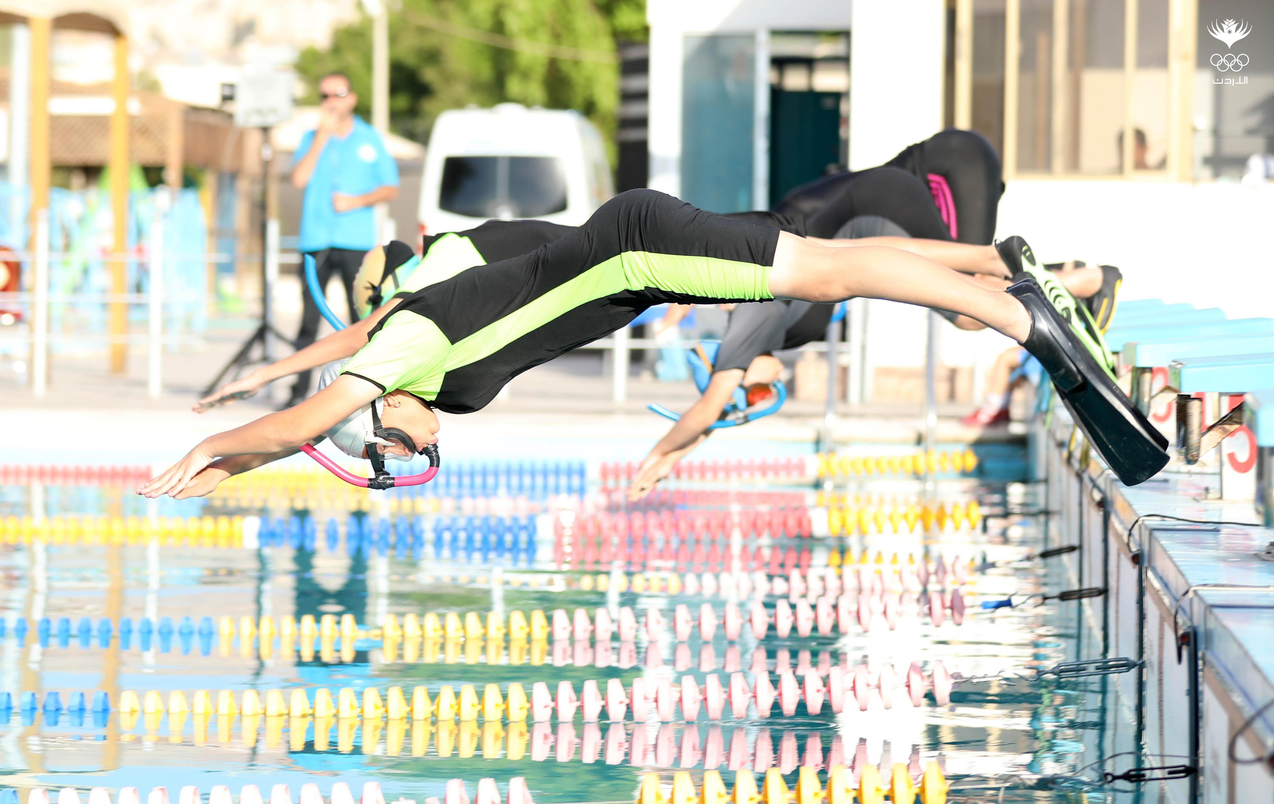 العقبة تستضيف بطولة المملكة المفتوحة للسباحة بالزعانف