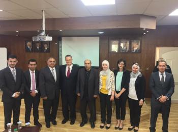 كلية الأعمال في عمان الأهلية تستضيف نائب محافظ البنك المركزي