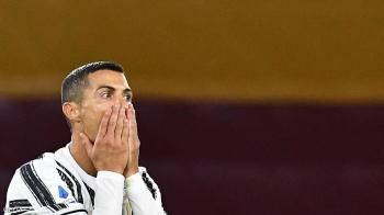 رونالدو لا يزال مصابا بكورونا ..  وقد يغيب عن لقاء برشلونة