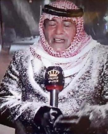 ولي العهد يحيي نشامى الميدان ويشارك صورة الزميل القضاة