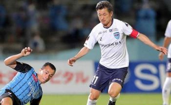 كازو يكسر مفاهيم السن ..  ويلعب أساسيا بدوري اليابان