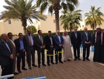 حفل تكريم للسفير الصمادي في قطر