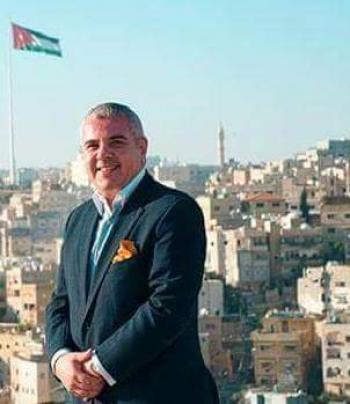فراس اشنانة يبدأ حراكه الانتخابي في ثالثة عمان