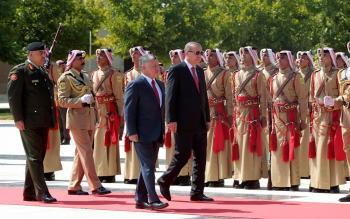 الملك وأردوغان يرفضان تغيير الوضع القانوني والتاريخي في الاقصى (صور)