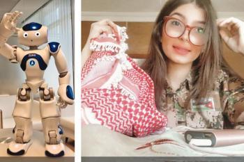 طالبة أردنية تفوز بمسابقة عربية للروبوت
