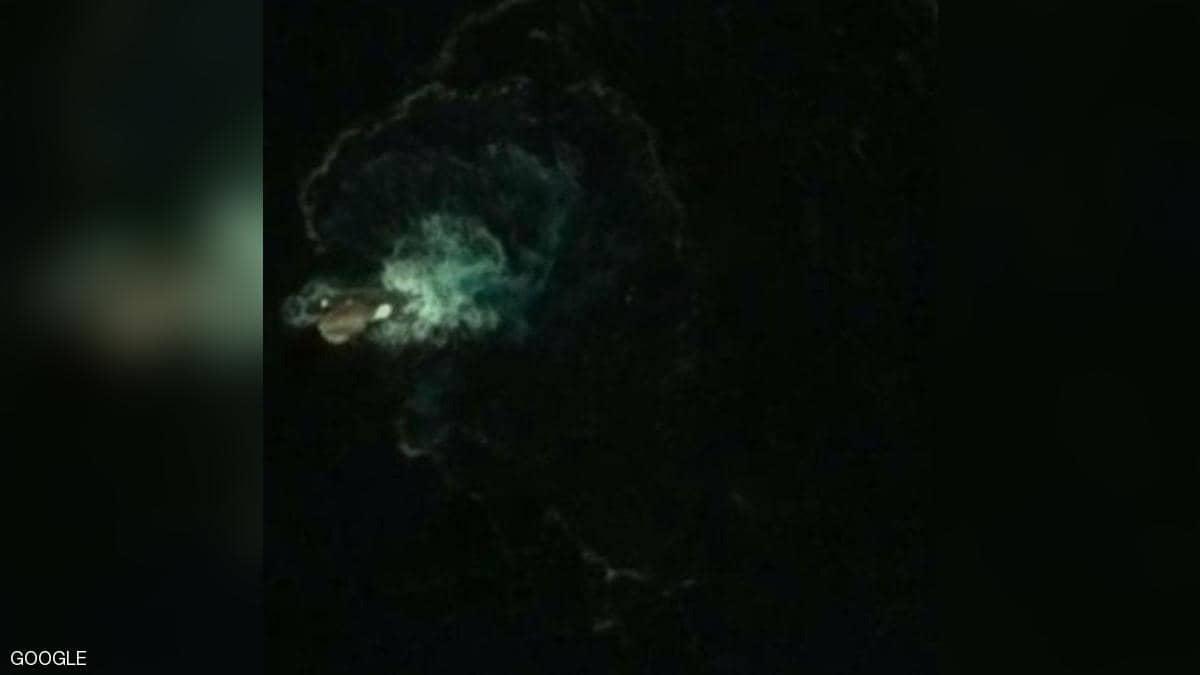 صورة من خرائط غوغل تثير الجدل ..  هل يكون وحش كراكن البحري؟