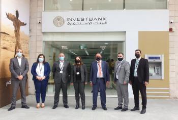 الاستثماري يفتتح الموقع الجديد لفرع إربد في شارع فراس العجلوني