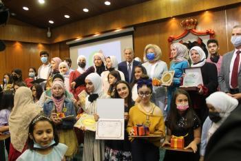 وزيرة الثقافة ترعى حفل  تكريم الفائزين بجوائز بناة المستقبل الإبداعية