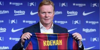 كومان مدرب برشلونة: جدول المباريات يقتل اللاعبين