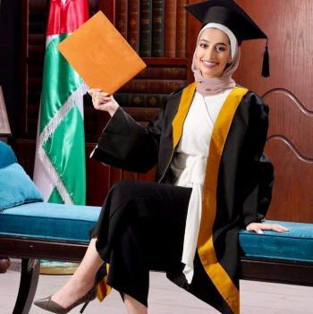الدكتورة ليان ابو سليم ..  مبارك التخرج