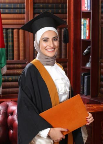 الدكتورة زين أحمد السكارنة العبّادي ..  مبارك