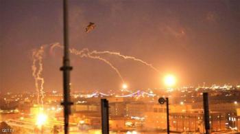 هجوم صاروخي قرب مطار بغداد