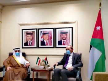 الصفدي يلتقي نظيره الكويتي لبحث العلاقات بين البلدين (صور)