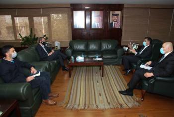 سعيدان: نراجع استراتيجية التعامل مع مشاريع الاستجابة للجوء السوري