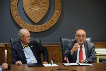 اتفاقية بين الهاشمية وكنت الأمريكية لإنعاش التبادل العلمي والثقافي
