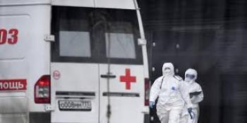 روسيا: 61 وفاة و8135 إصابة جديدة بفيروس كورونا