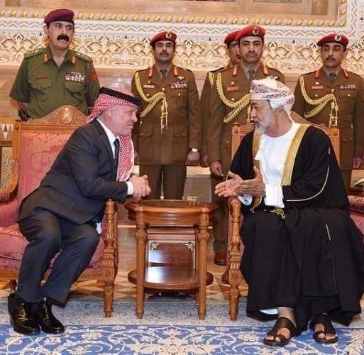 الجالية الأردنية في عُمان تهنئ الملك والسلطان هيثم بن طارق بعيد الفطر
