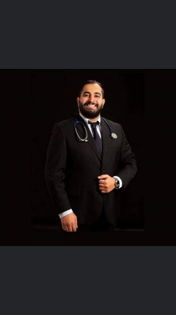 الدكتور حسين الصمادي ..  مبارك التخرج