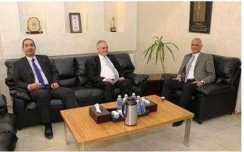 جامعة الحسين بن طلال وجامعة عمان العربية تبحثان التعاون الثنائي