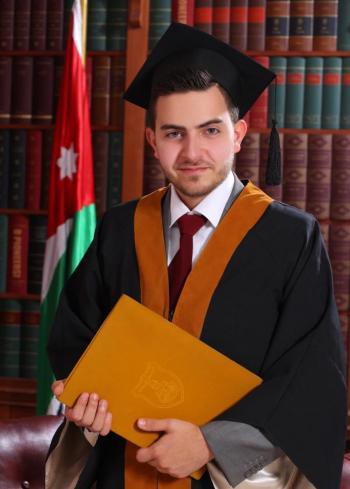 سوار علي عجوة .. مبارك التخرج
