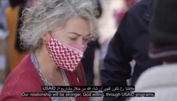 مسؤولة بالسفارة الامريكية من السلط: شعرت بلطف الأردنيين