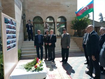 السفارة الاذرية تحتفل بالذكرى الأولى لتحرير أراضي بلادها