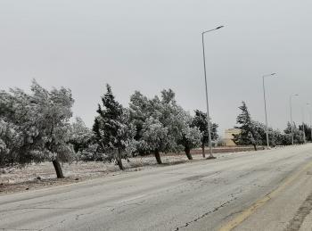 الأشغال: تراكم الثلوج تراوح بين 5 إلى 10 سم